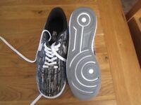 Nike air lunar force 1 AF1 Mens Boy Trainers running shoe size 9 uk BLACK