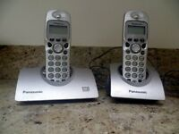 panasonic twin set cordless anwer phone