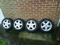 4 stud vw alloys 15 inch