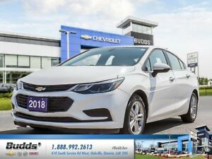 2018 Chevrolet Cruze LT Auto 0% for up to 24 Months OAC !