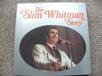The Slim Whitman Story LPs.