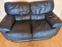 FREE - 3 and 2 seater leather settees