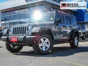 2015 Jeep Wrangler SPORT UNLIMITED AUTO *LOW MILEAGE*