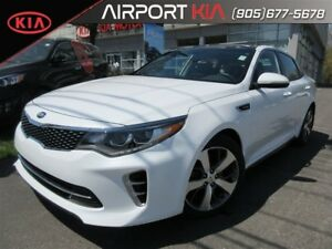 2017 Kia Optima SX Turbo Demo /Leather/Sunroof/ Navigation