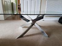 Glass Lounge Tables - Unique Design - Excellent Condition
