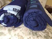 Two sleeping bags