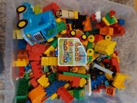 Duplo play bricks and collectable toys