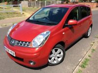 NISSAN NOTE TEKNA DCI 1.5L,LOOKS AND DRIVES GREAT,SERVICED&MOTED,BLUETOOTH,COOLER BOX,TINTED GLASS..