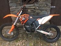 Ktm 200 XC enduro / motocross bike