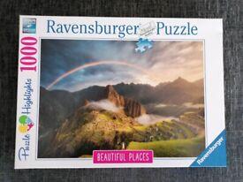 Jigsaw puzzle 1000 pieces Machu Pichu