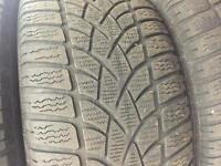 OEM 18 245 BMW winter tires and rims for sale