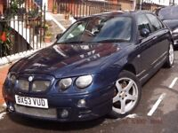 2003 MG ZT 120 one owner FSH 36,750 miles excellent condition