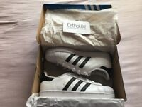 Adidas Originals Superstar White Black Stripes Boxed Brand New Without Tags