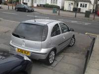auxhall corsa sxi plus low milage low insurance half leather alloy wheels fsh elec windows