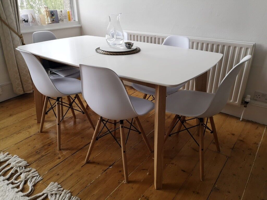 Kyra Extendable Dining Table Chair Not Included In Dulwich