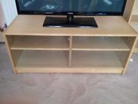 Ikea very light wood Television cabinet, TV not included