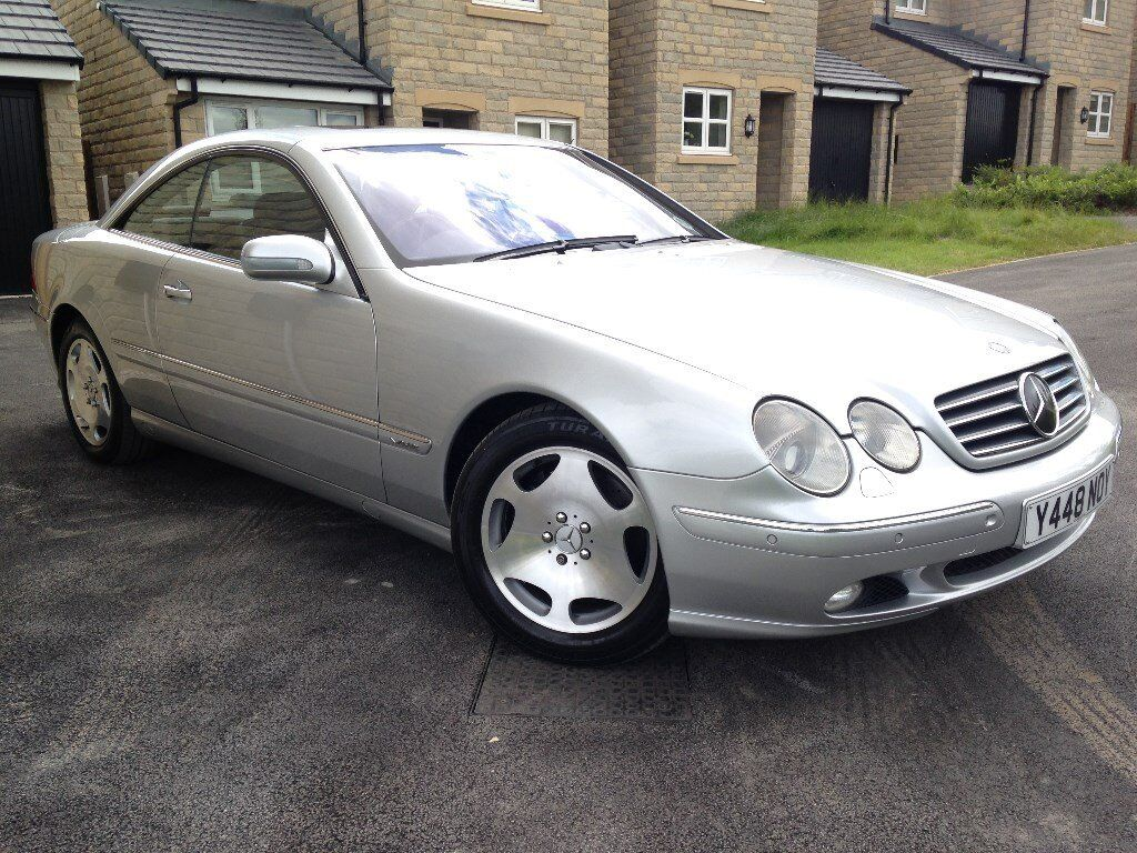 2001 mercedes cl600 6 0 v12 w215 only 75000 miles classic. Black Bedroom Furniture Sets. Home Design Ideas