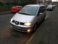 Seat alhambra sharan galaxy 1.9tdi auto sport 7 seater not bmw vw audi mercedes vauxhall ford