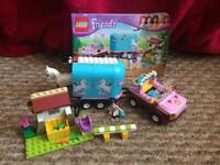 Lego friends horse and trailer