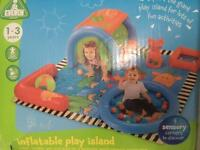 ELC inflatable play island. Activity Play mat