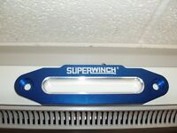 Superwinch Branded Blue Hawse Fairlead - 255mm Hole Centres