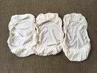 Brand New Fitted Moses Basket Sheets