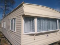 For sale static caravan, central heating and double glazing. Suit home self builders or workmen.