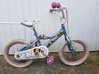 Girls bike. Hardly used great condition. Puppies design