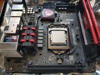 i5 4690k, ASUS GTX 970 ITX, 16GB 2400mhz Corsair, MSI Z97I Gaming AC, Corsair H55, Gaming PC parts