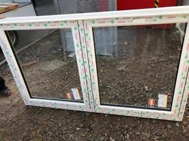 White Double glazed upvc windows for sale