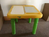 Kid's Crayola Art And Play Table