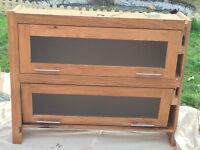 Oak Wall mountable Kitchen Cabinets