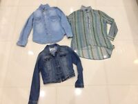 Denim Jacket with two shirts