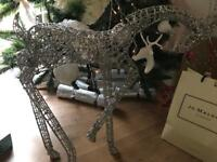 Reindeer Christmas decorations