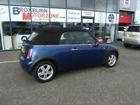 2007 57 MINI CONVERTIBLE 1.6 COOPER 2d 114 BHP **** GUARANTEED FINANCE ****