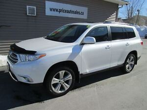2012 Toyota Highlander SPORT-HEATED LEATHER-SUNROOF!!!