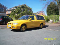 Skoda Fun Pickup. 6 months MOT. Good condition. Used daily. Full service history.