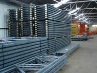 Used Dexion Warehouse Racking - Pallet Racking- 50 bays 4m high x 1067mm D x 2667mm W x 2 Levels