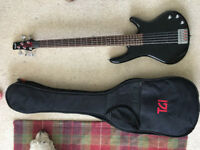 Ibanez GIO GSR5 5 string bass guitar - faulty pickup