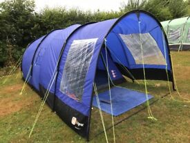 Hi gear rock 4 tent with canopy