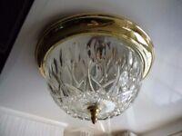 Beautiful flush ceiling light.