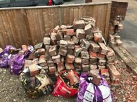 Bricks/rubble free to collect