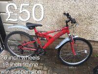 Ladies and Gents Mountain Bikes £30 - £75 mountain bike cycle
