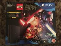 * BRAND NEW * PS4 500GB + GAME + MOVIE + 12 MONTHS WARRANTY ( Delivery Available )
