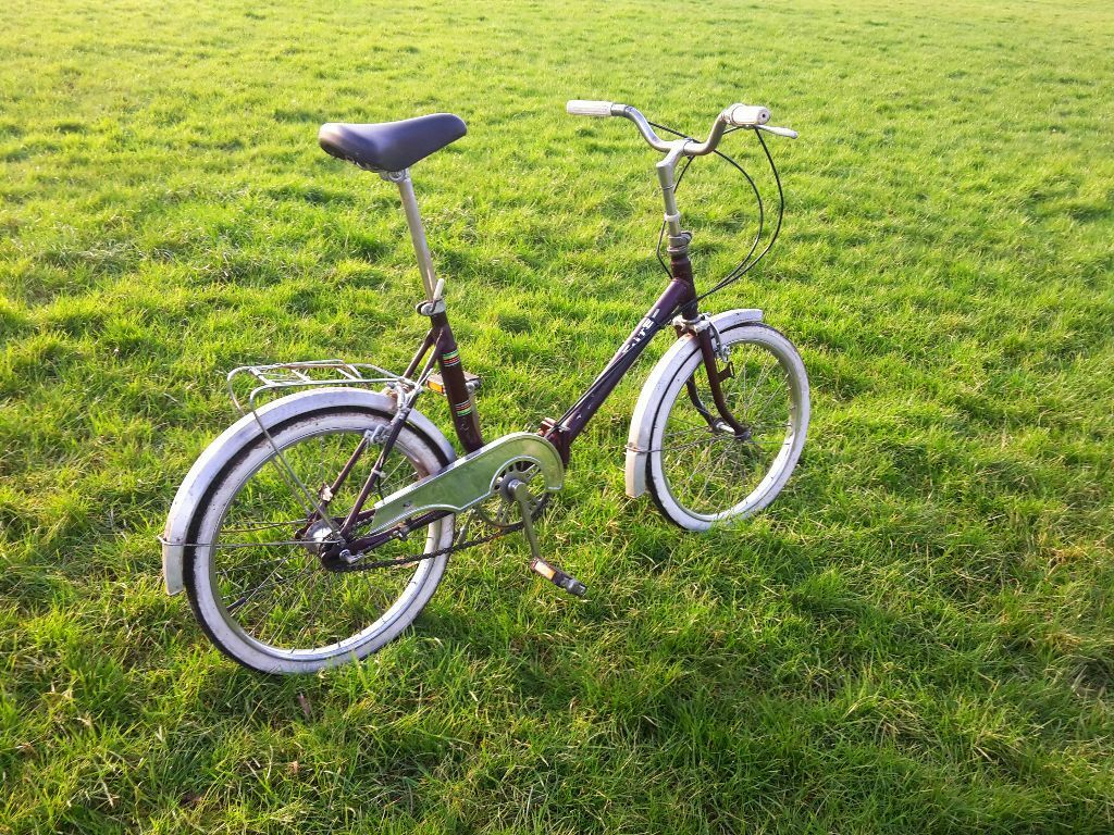 Cute German Made Vintage Folding Bike 3 Speed Good Condition