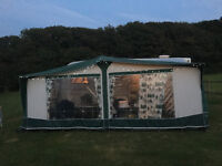 bradcot classic 960 awning Green with easy alloy poles