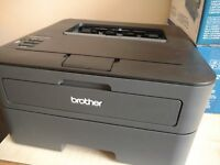 Brother Mono Laser Printer (HL-L2365DW) and 2 Toner Cartridges