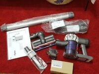 Dyson V6 cordless bagless vacuum cleaner 1 year Dyson guarantee boxed