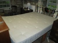Mattress 5 foot by 6 foot 6 inches. Firm othopaedic