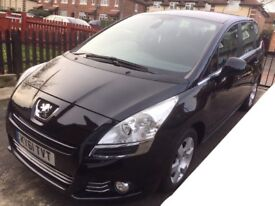 Peugeot 5008 1.6 e-HDi, FSH, 7 Seater, Family Car, People Carrier, 39K Low Mileage, Automatic Diesel